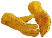Suvirintojų verstos odos darbinės Pirštinės | GUIDE 280
