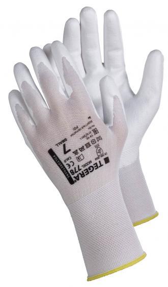 Nailoninės aplietos poliuretanu darbo pirštinės   TEGERA 778 ESD