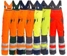 Padidinto matomumo vyriškas darbo puskombinezonis | 3501-775