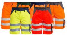 Padidinto matomumo vyriški darbo šortai | 6501-770