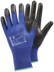 Nailoninės aplietos poliuretanu darbo pirštinės | TEGERA 777 ESD