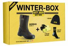 Žieminiai odiniai darbo batai | PROMOBOREA S3 SRC HRO