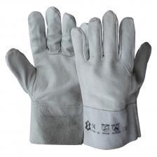 Suvirintojų kombinuotos odinės su versta oda darbinės Pirštinės | E-2/07