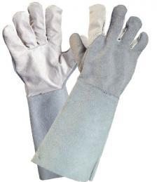 Suvirintojų kombinuotos odinės su versta oda darbinės Pirštinės | HURI