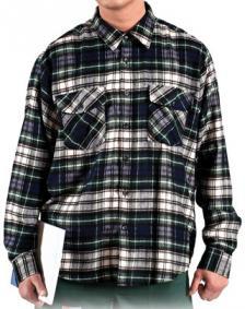 Pašiltinti vyriški marškiniai | KFLUX