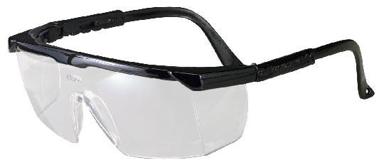 Apsauginiai skaidrūs darbo akiniai | 320 su reguliuojamomis kojelėmis