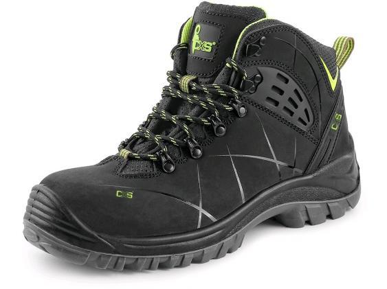 Vyriški nabuko odos DARBO batai | METEOR S3 SRC