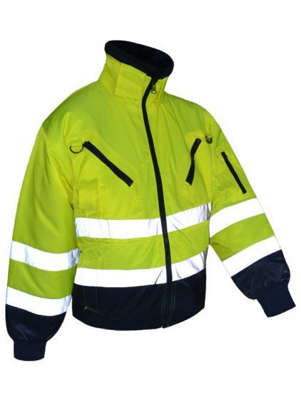 Padidinto matomumo žieminė vyriška darbo striukė | PILOT