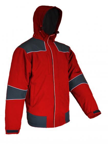 Žieminė vyriška striukė | TENESIS raudona Softshell