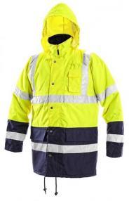 Žieminė signalinė darbo striukė | 155 OXFORD