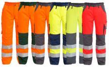 Padidinto matomumo vyriškos darbinės kelnės | 2501-775