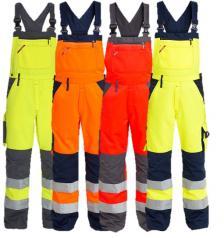 Padidinto matomumo vyriškas darbo puskombinezonis | 3511-525