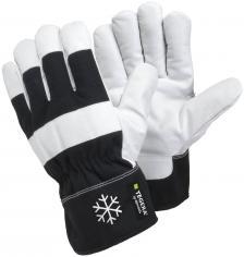 Žieminės odinės darbinės pirštinės | TEGERA 377