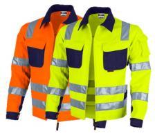 Padidinto matomumo vyriškas darbo švarkas | PRO-WARM