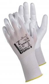 Nailoninės aplietos poliuretanu darbo pirštinės | TEGERA 778 ESD