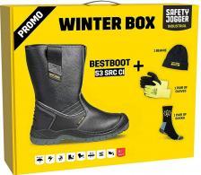 Žieminiai odiniai pusauliniai darbo batai | Bestboot Box S3 SRC CI