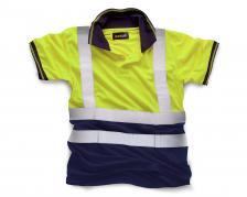 Signaliniai vyriški polo marškinėliai   HV031