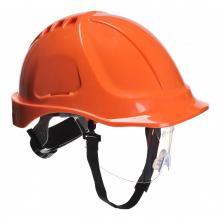 Apsauginis šalmas darbui su skydeliu | PW55 ENDURANCE